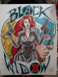 Black Widow by JerryLSchick