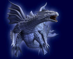 DeepSea White Dragon by AkaiGaru