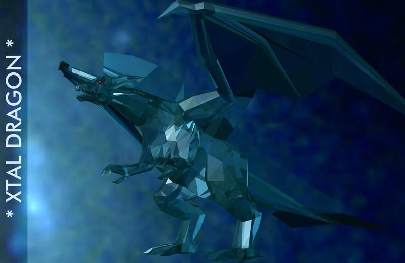 XTAL DRAGON by AkaiGaru