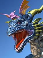 Riding on head by AkaiGaru