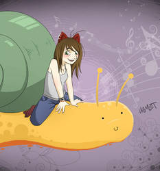 Snails are awesome by KamlotVIII