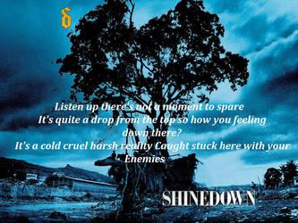 ShineDown Lyric banner by GoodluckMysterio
