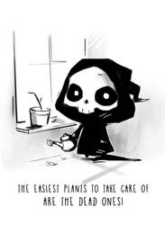 Gardening Tips from your Friendly Reaper by BeaGifted
