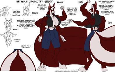 WS RedWolf character sheet by strredwolf