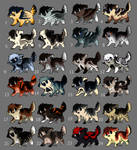 pup adoptables  {closed} by HappyHappyA