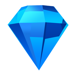 Bejeweled Blue Gem by LDinos