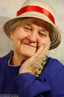 Granny Sophie Hatter by kirawinter