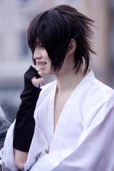 Smile Sasuke, smile by kirawinter