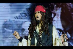 Captain Jack Sparrow by kirawinter
