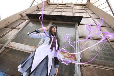 Akemi Homura - Magic by kirawinter