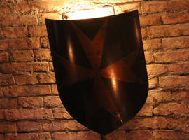 wall lamp medieval style by DieCooleSocke