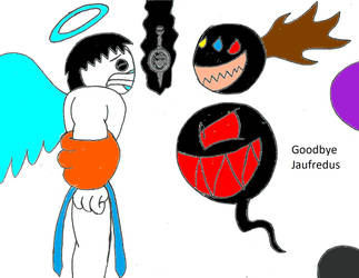 Goodbye Jaufredus by MaceyWitchHunter