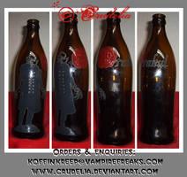 Drakul bottle by crudelia