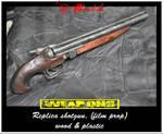 Sawn-off Shotgun 01 by crudelia