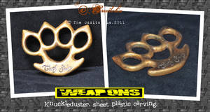 knuckleduster by crudelia