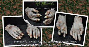Corpse hands by crudelia