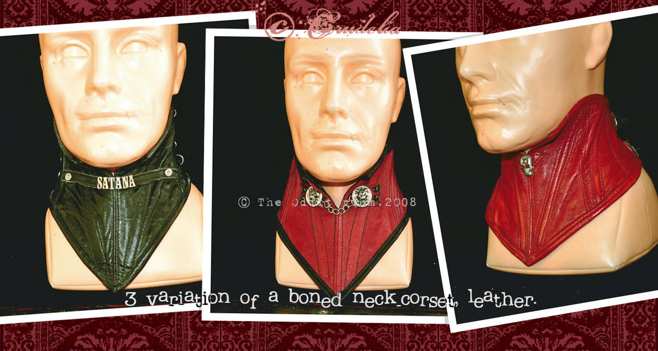 Neck Corsets by crudelia