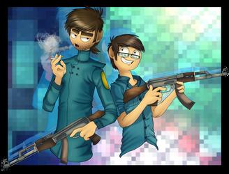 AT - God Dang Guns by PolisBil