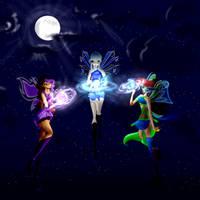Lunar Spells by PhoenixFlameFairy