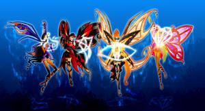 Magic of Fairy Dust by PhoenixFlameFairy