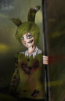 Five night at Freddy 3 / Spring trap by AnikaDelor