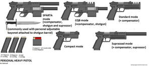 my Personal Heavy Pistol by caiobrazil
