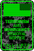 Terrorism B Gone-Numbers by MouseDenton