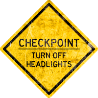 Checkpoint - Headlights by MouseDenton