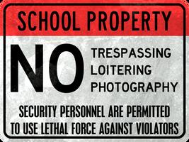 School Property by MouseDenton