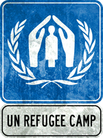 UN Refugee Camp by MouseDenton