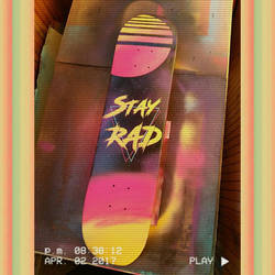 Stay Rad Deck by PoulwithanO