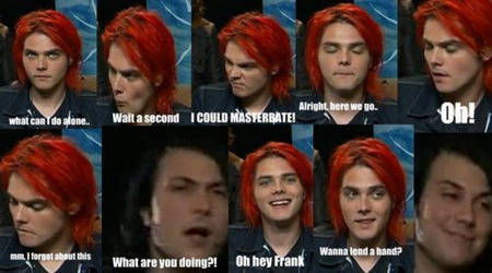 When Gerard Is Alone. by xMarchingSillyBand