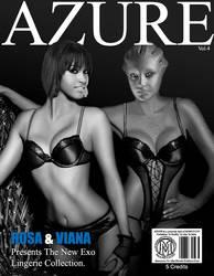 AZURE Vol.4 Rosa and Viana by Manuccio