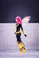 X-Men - Pixie by Shazzsteel