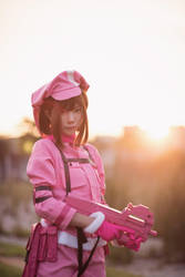 Gun Gale Online - LLENN by Shazzsteel
