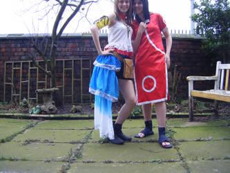 Yuna and Sakura by mistihaze