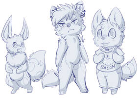 Puzzle Sketches by Uluri