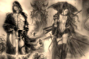 Luis Royo. by uare4me