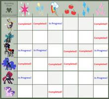 Breeding Chart Adoptables: Free! by Royal-Snowflake
