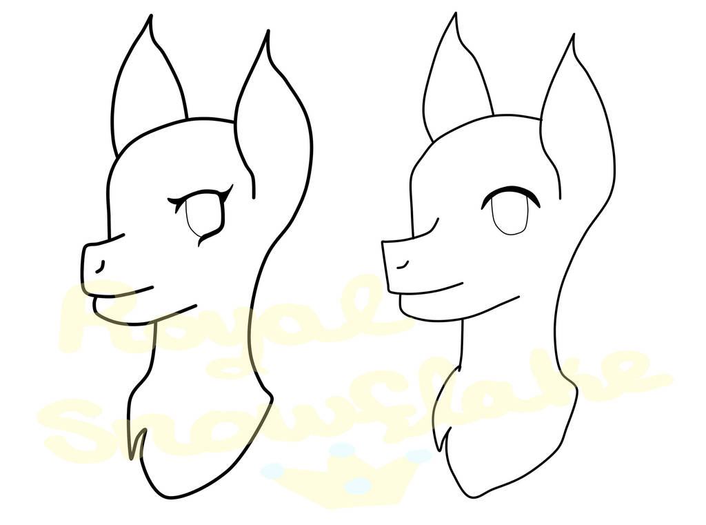 Headshot commissions are open! by Royal-Snowflake