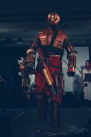 steampunk drop shock armour. by juggern0ught