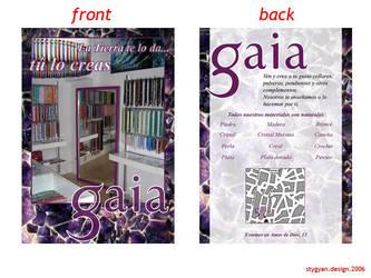 Gaia: Propuesta by stygyan