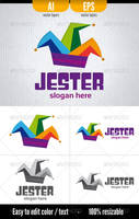 Jester - Logo Template by doghead