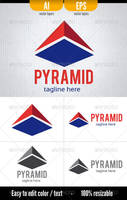 Pyramid - Logo Template by doghead