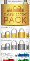 Padlock PACK by doghead