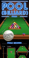 Pool / Billiard - Vector items by doghead