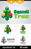EqualiTree - Logo template by doghead