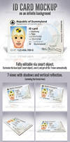 ID Card - Product Mock-Ups by doghead