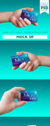 Hand with Public Transportation Card by doghead