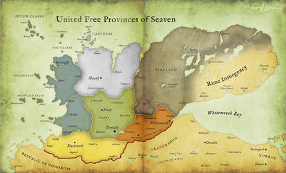 United Free Provinces of Seaven by taivaansusi